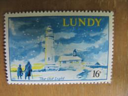 721 Vieux Phare Lighthouse  île Lundy Atlantique Nord Météo Climat - Phares
