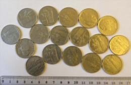 Italie Monnaie 100 Lires (17 Pièces) - Italy