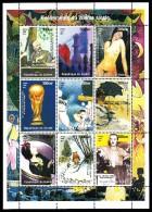 Republique De Guinee MNH 1998 Mini Sheets Of 9 Different 20th Century Events: Walt Disney, Winnie The Pooh, Popeye, Coco - Disney
