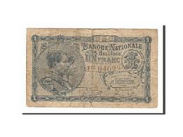 Belgique, 1 Franc, 1920-22, KM:92, 1922-06-08, TB - [ 2] 1831-... : Belgian Kingdom