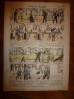 1892 IMAGE D'EPINAL :n°149 MAISON HANTEE : Histoires & Scènes Humoristiques, Contes Moraux & Merveilleux - Vieux Papiers