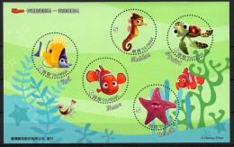 TAIWAN 2008 Rep Of CHINA Cartoon Animation Disney Pixar Nemo MS 2 MNH
