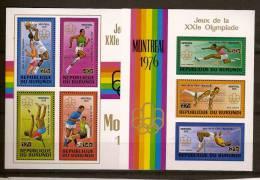 Burundi 1976 OBCn° Bloc 90-91 *** MNH  Cote 28 Euro Sport - Burundi