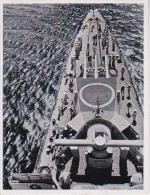 CAID Sammelbild - Unsere Reichsmarine - Aus Dem Leben Der Matrosen - Vorschiff Eines Kreuzers (22181) - Zigarettenmarken
