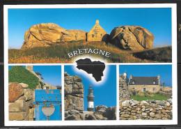 Bretagne (Brittany), France, Writing On Back. Not Mailed - Bretagne