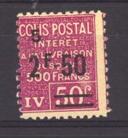 04593 -    France  -  Colis Postaux :  Yv   76  * - Nuovi