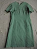 Vintage - Robe Femme Couture Sur Mesure Années 70 - Habits & Linge D'époque