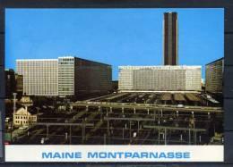 PARIS . La Gare Maine Montparnasse . Voir Recto - Verso  (J549) - Métro Parisien, Gares
