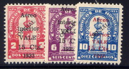 HONDURAS, SET, NO.'S C73-C75, MLH - Honduras