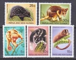 PAPUA  NEW  GUINEA  323-7     **    RODENTS  WILDLIFE  TREE  KANGAROO,  PUSSUM - Rodents