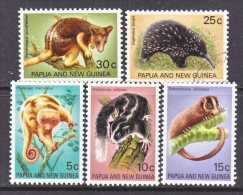 PAPUA  NEW  GUINEA  323-7     ** (o)    RODENTS  WILDLIFE  TREE  KANGAROO,  PUSSUM - Rodents