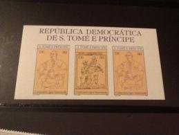 Igor Stravinsky And Picasso 1981 - Sao Tome And Principe