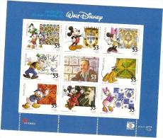 Portugal ** & Walt Disney 2001 - Blocchi & Foglietti