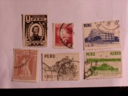 PÉROU - PERU  1949-60   LOT# 3 - Pérou