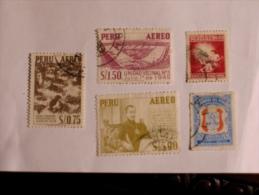 PÉROU - PERU  1950-60   LOT# 4 - Pérou