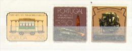 Portugal  ** &  Public Transportation, 1973 (1198) - 1910 - ... Repubblica