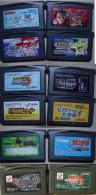 RETRO GAMING : Game Boy Advance Japanese :  12 Games - Nintendo Game Boy