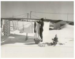 (155) Australia - NSW - Snowy MOuntain Hydro-Electric Scheme - Cabramurra 1955 - Washing Day - Australia