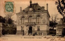 93-MONTREUIL SOUS BOIS..LA MAIRIE.....CPA ANIMEE - Montreuil