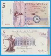"Territory Of  WEST  JUNEE  5  SPATNY  2.014  SERIES ""B""   SC/UNC/PLANCHA    T-DL-10.938 - Specimen"