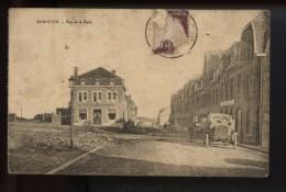 Warneton Rue De La Gare  (bien Voir Etat !)  Rare Vue - Comines-Warneton - Komen-Waasten