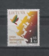 Lithuania Litauen Post Stamp 2010 Used - Lituania
