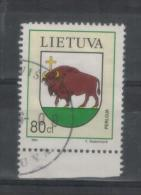 Lithuania Litauen Post Stamp 1994 Used - Lituania