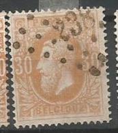 33  Obl  LP 238 Marchienne Au Pont  (+60) - 1869-1883 Léopold II