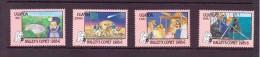 OUGANDA-UGANDA  1986 ESPACE-COMETE DE HALLEY   YVERT N°406/09  NEUF MNH** - Space