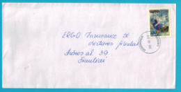 Lithuania Litauen Cover Sent From Guostagalis To Siauliai  Post Stamp 2014 - Lituania