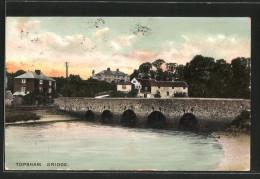 Pc Topsham, Ortspartie Mit Topsham Bridge - England