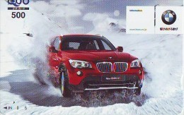 Télécarte JAPON * BMW * Phonecard JAPAN (238) * Japon Auto Car VOITURE * - Cars