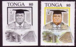 Tonga 1993 - Egypt Pyramid  - Proof + Specimen - Egittologia