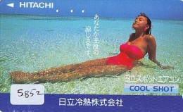 Télécarte Japon EROTIQUE (5852) * EROTIC * Japan * ACTRESS * TK * BIKINI  GIRL * BATHCLOTHES * FEMME * SEXY LADY - Moda