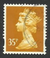 Great Britain, 35 P. 1993, Sc # MH222, Mi # 1360CS, Used - 1952-.... (Elisabetta II)