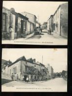 BTE 49 Montfaucon, Lot De 2 Cartes - Montfaucon