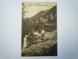 CAUTERETS  :  Sur Le Chemin De La Ferme De La  REINE  HORTENSE   1927    - Cauterets