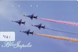 TELECARTE JAPON * MILITAIRY AVION  (461) Flugzeuge * Airplane * Aeroplanos * PHONECARD JAPAN * ARMEE * LEGER VLIEGTUIG - Flugzeuge