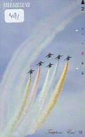 TELECARTE JAPON * MILITAIRY AVION  (491) Flugzeuge * Airplane * Aeroplanos * PHONECARD JAPAN * ARMEE * LEGER VLIEGTUIG - Flugzeuge