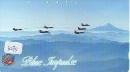 TELECARTE JAPON * MILITAIRY AVION  (494) Flugzeuge * Airplane * Aeroplanos * PHONECARD JAPAN * ARMEE * LEGER VLIEGTUIG - Flugzeuge