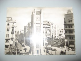 CARTOLINA Libano BEYROUTH BEIRUT VIAGGIATA 27 PLACE DE L ETOILE 1950 BN - Cartes Postales