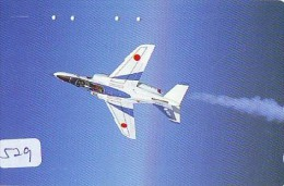 TELECARTE JAPON * MILITAIRY AVION  (529) Flugzeuge * Airplane * Aeroplano * PHONECARD JAPAN * ARMEE * LEGER VLIEGTUIG - Flugzeuge