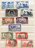 TUNISIE-----Lot De 23  Timbres Oblitérés - Tunisia (1888-1955)