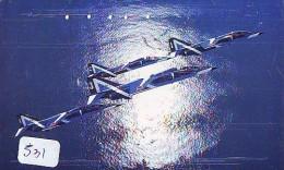 TELECARTE JAPON * MILITAIRY AVION  (531) Flugzeuge * Airplane * Aeroplano * PHONECARD JAPAN * ARMEE * LEGER VLIEGTUIG - Flugzeuge