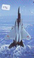 TELECARTE JAPON * MILITAIRY AVION  (536) Flugzeuge * Airplane * Aeroplano * PHONECARD JAPAN * ARMEE * LEGER VLIEGTUIG - Flugzeuge