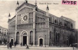 Veneto-padova-piove Di Sacco Duomo Animata Veduta Primi 900 - Italia