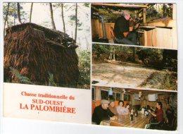 CHASSE TRADITIONNELLE DU SUD OUEST. LA PALOMBIERE - France