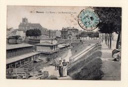 Meaux : Les Bateaux Lavoirs, Animé, écrite En 1906. - Meaux