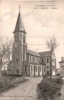 15 QUEZAC L'EGLISE CIRCULEE 1910 - Autres Communes