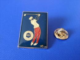 Pin´s Golf - AGF Assurance - Golfeur - Corner Coinderoux (PD8) - Golf